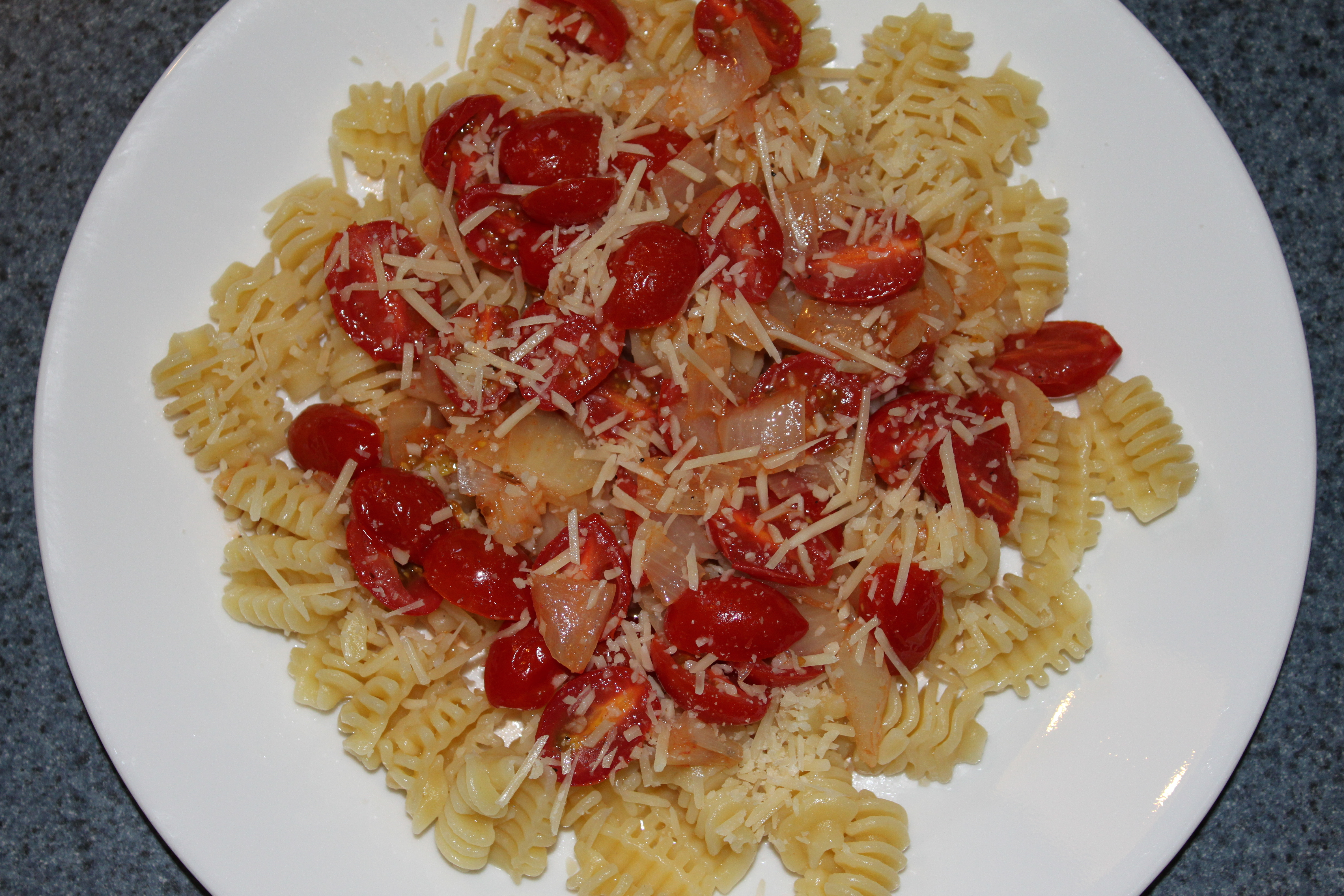 Fresh from the Garden Tomato Pasta   Penny\'s Food Blog