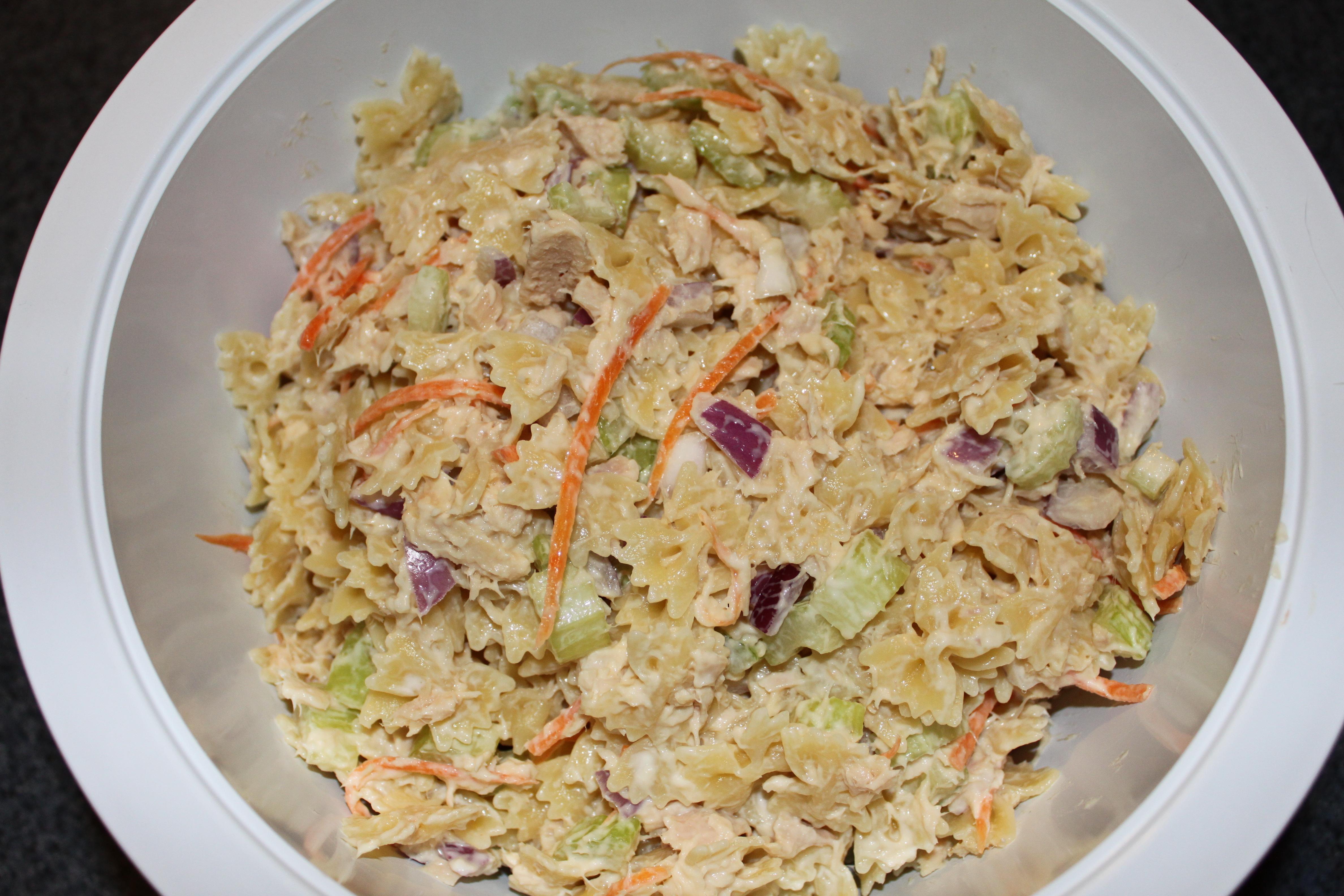 Picnic Perfect Tuna and Macaroni Salad   Penny's Food Blog