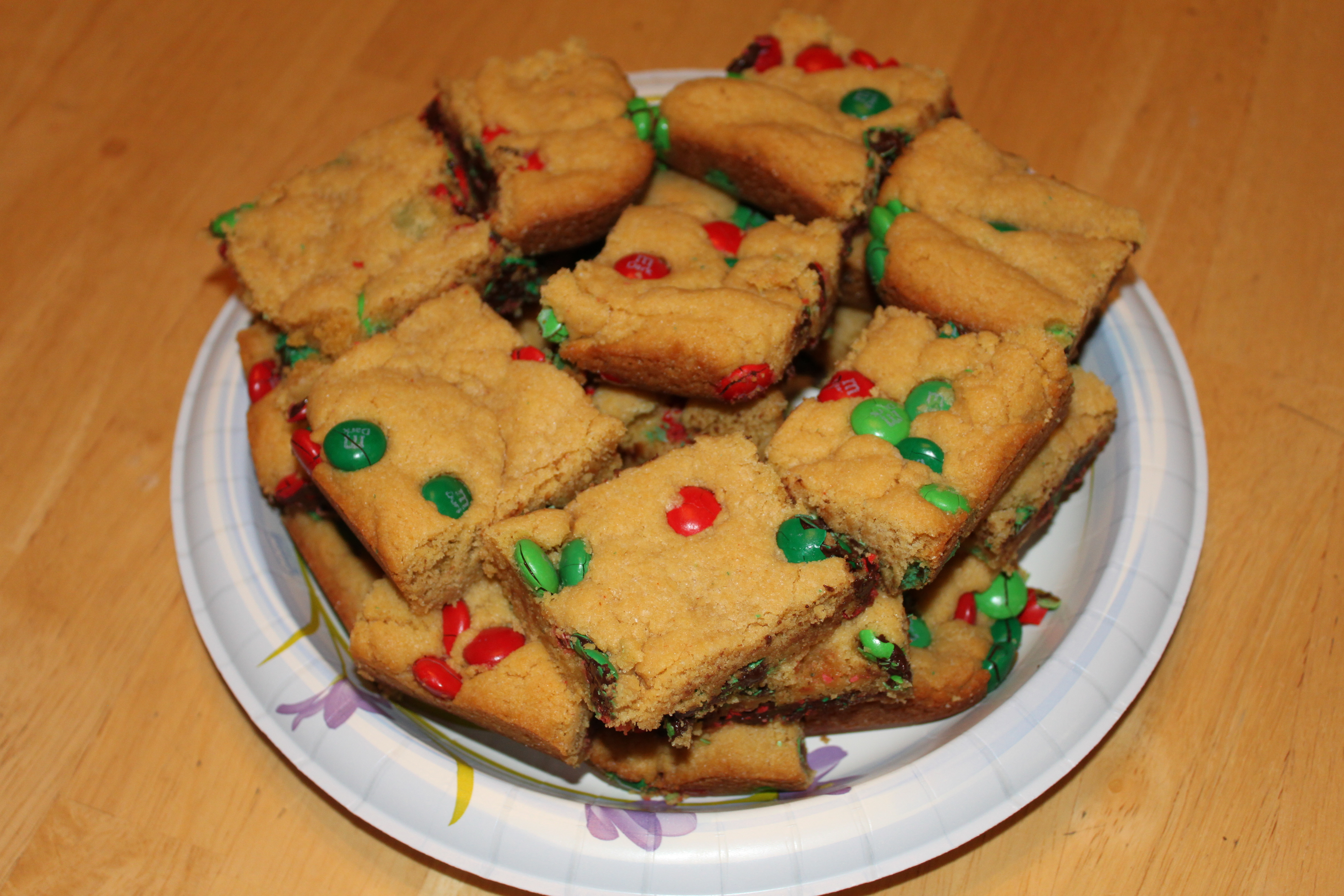 Here is a third variation of the Cake Mix Bar Cookie. These are for ...