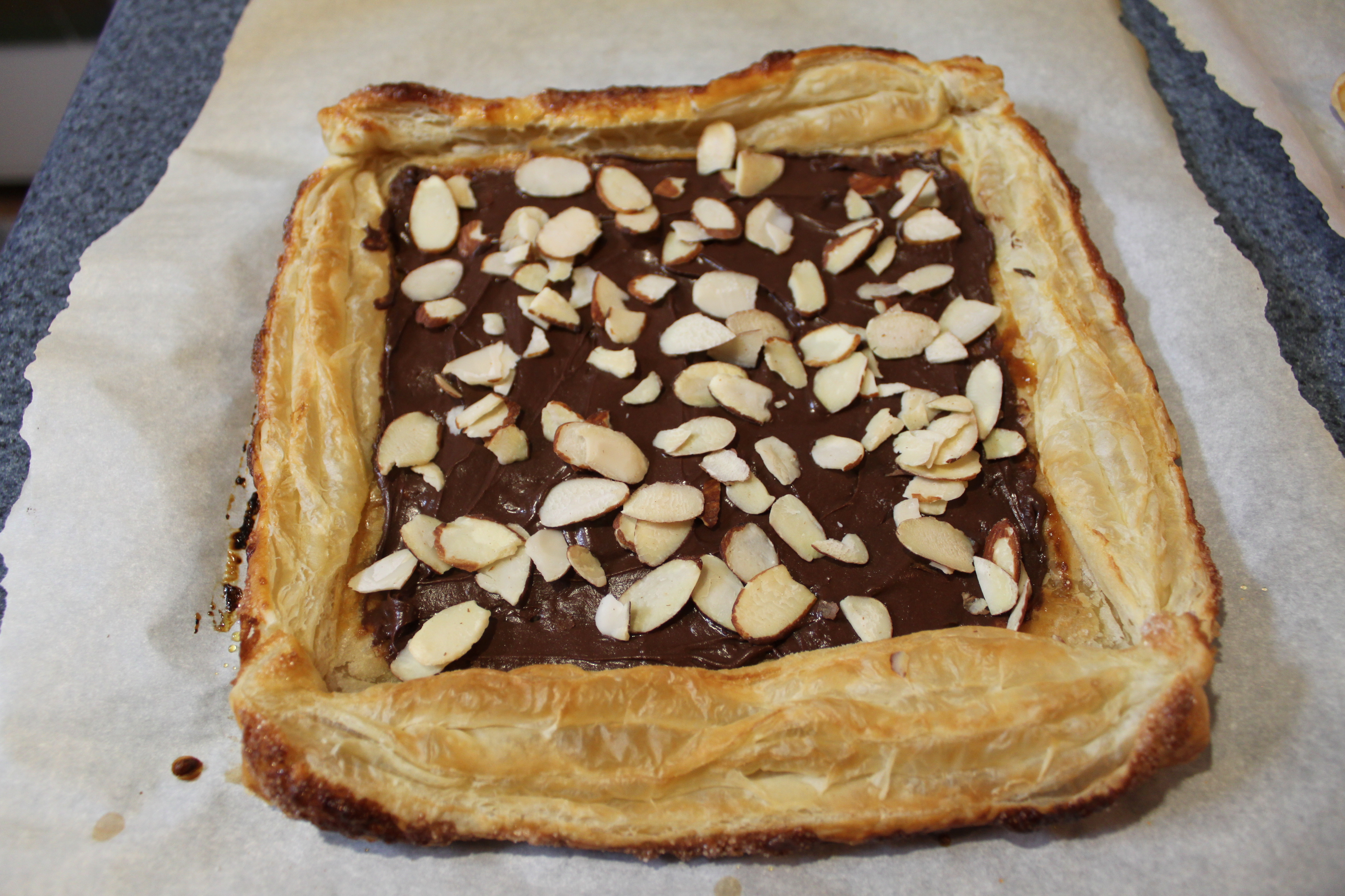 Chocolate Almond Pastries | Penny's Food Blog