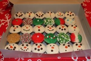 Christmas cupcakes 002