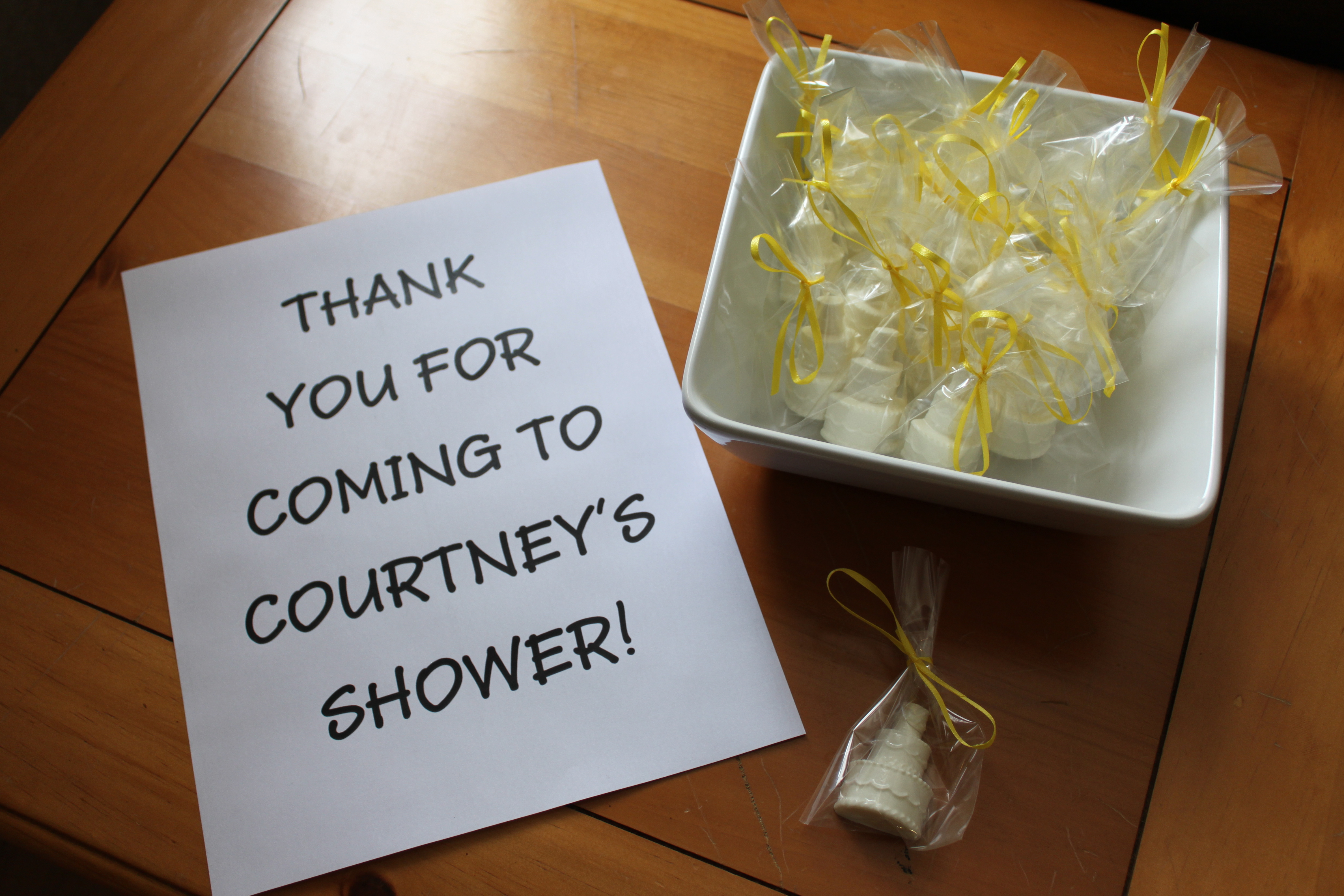 Courtney s bridal shower desserts penny 39 s food blog for Classy kitchen tea ideas
