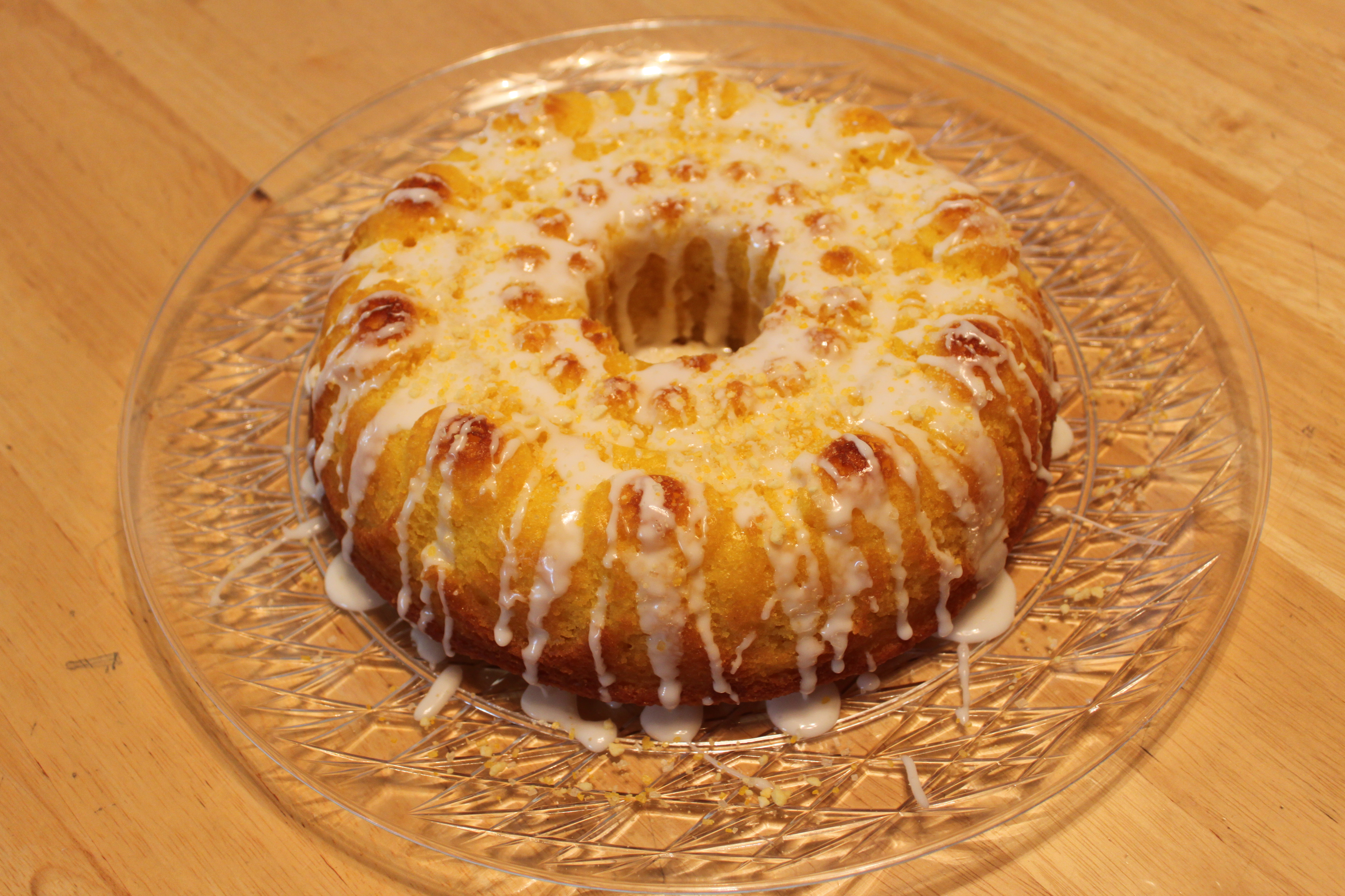 Paula Deen Lemon Bundt Cake