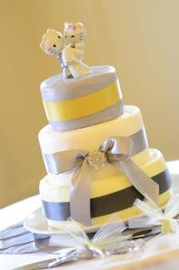 Courtney's wedding cake