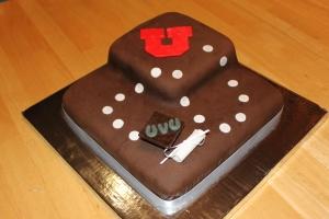 Alecia's graduation cake