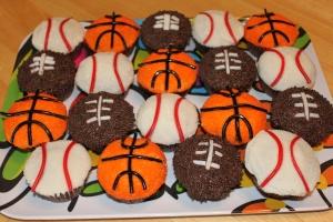 Janson S Birthday Baseball Football And Basketball