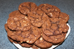 Nutty Chocolate Chip Cereal Cookies