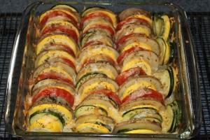 summer veggie tian