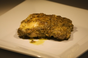 Pesto Ranch Crock Pot Chicken