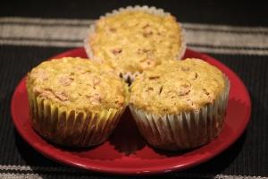 Oatmeal Cinnamon Zucchini Muffins