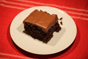 Frosted Zucchini Brownies