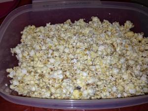 Lemon Kool-Aid Popcorn
