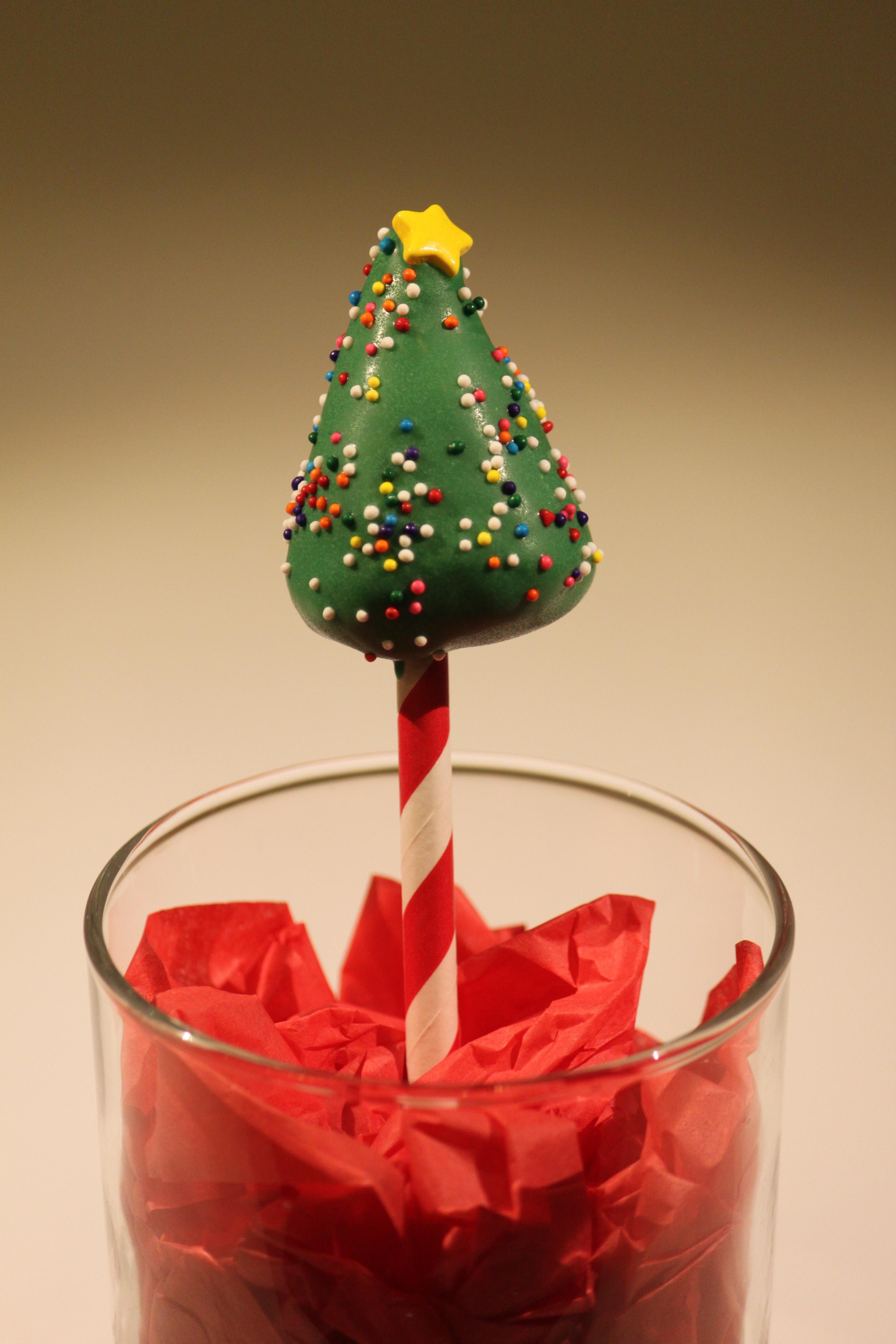 Christmas Tree Cake Pop Mold