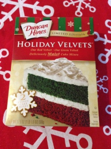 Duncan Hines Holiday Velvets Cake Mix