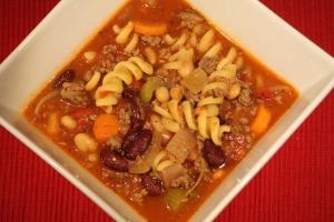 Pasta E Fagoili Soup