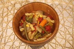 Veggie Soup with Pasta