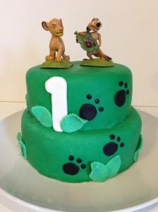 Lion King Mini Cake