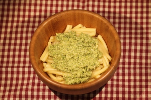 Pasta with Broccoli Pesto