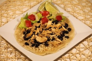 Slow Cooker Chicken Carnitas Tacos