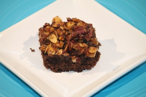 3-Nut Upside-Down Cake