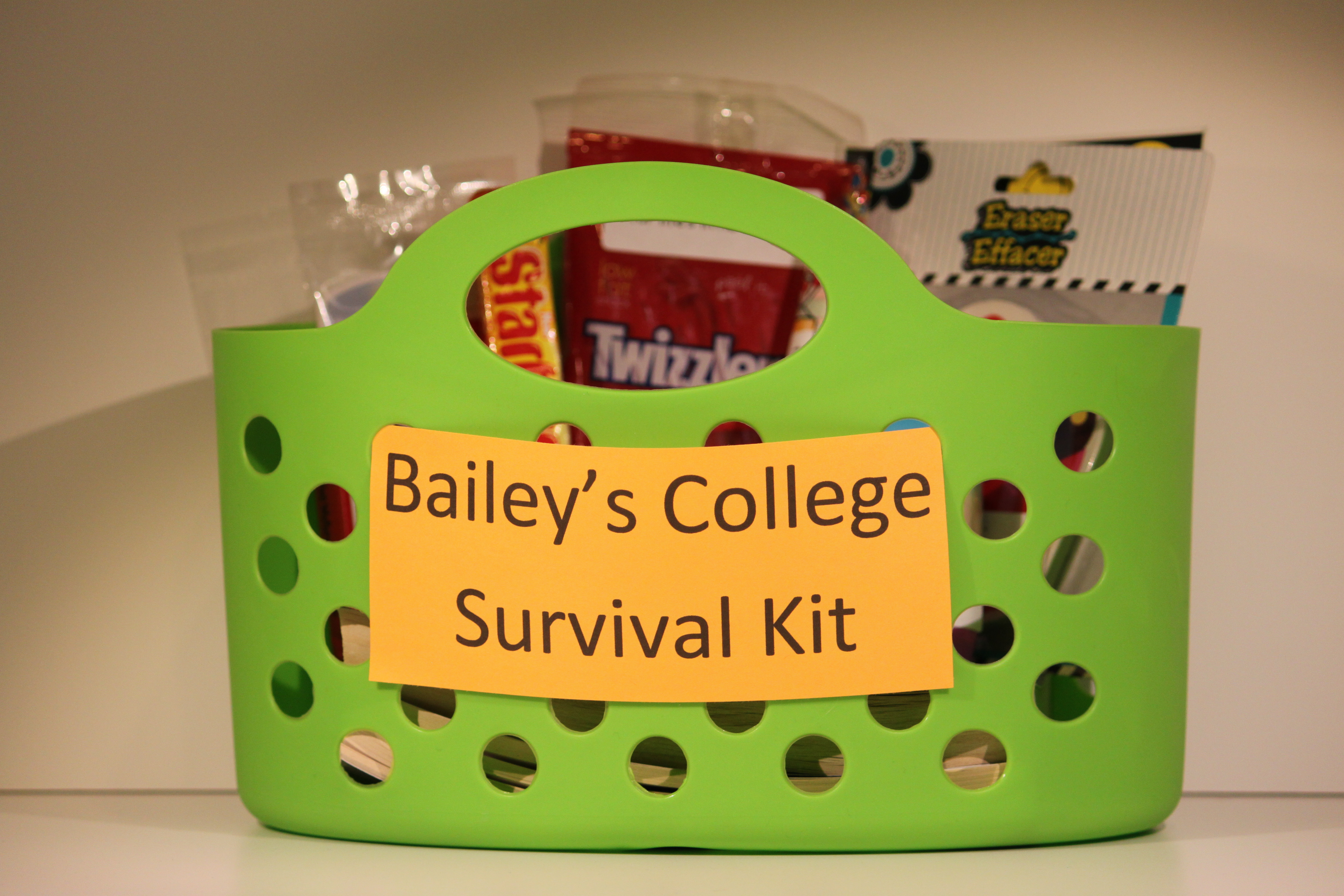 College Survival Kit Graduation Gift · College Survival Kit & College Survival Kit Graduation Gift | Pennyu0027s Food Blog