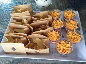 Individual 7 Layer Dips and Chips