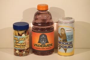 Jar Jar of Gungan Snacks, Vaderade & Wookie Cookies