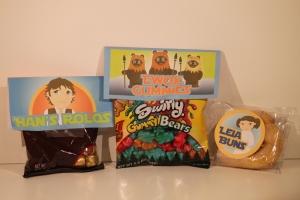 Han's Rolos, Ewok Gummies & Leia's Buns