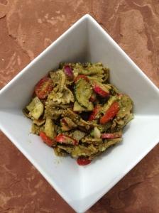 Loaded Pesto Pasta Salad