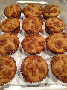 Yogurt Streusel Muffins