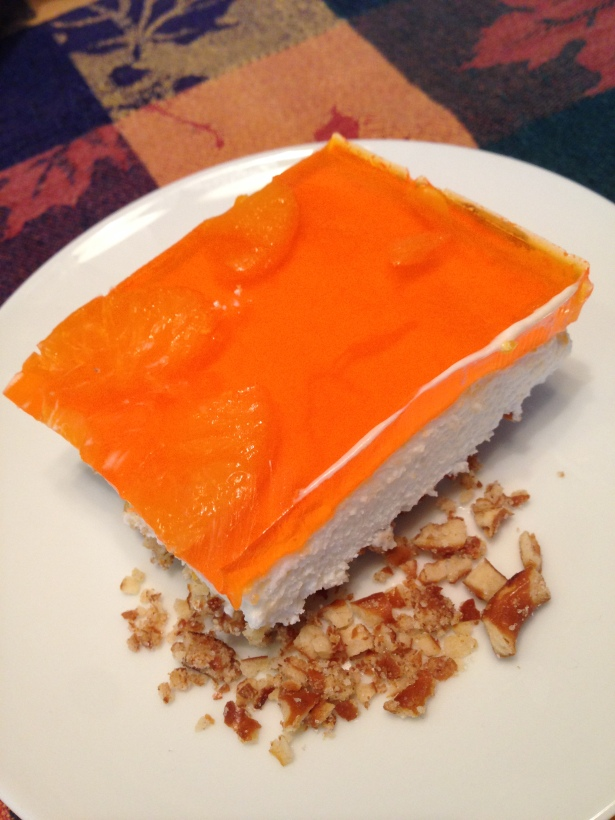 Mandarin Orange Pretzel Salad