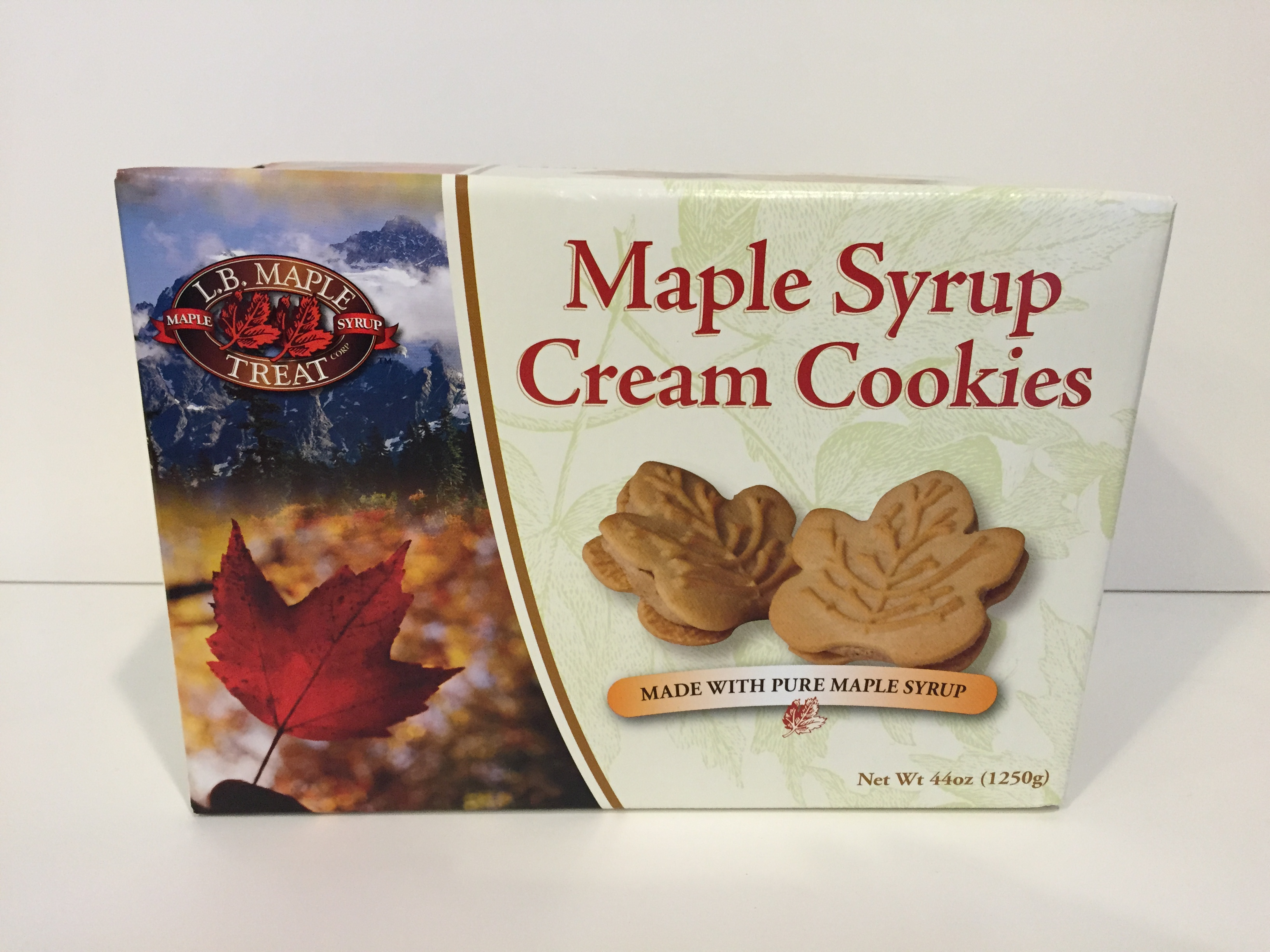 Maple Syrup Cream Cookies