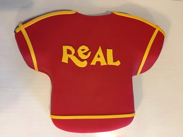Real Salt Lake Soccer Jersey BIrtthday Cake