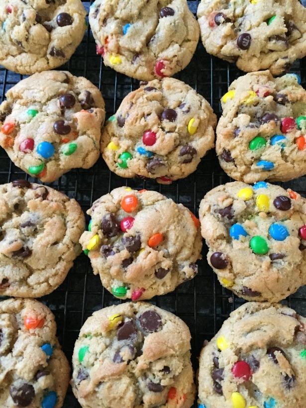 M&M Pudding Cookies