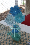 Paper Flower Centerpiece