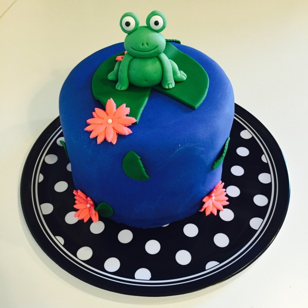 """I will Toadaly go to the Dance with you"" Fondant Cake"