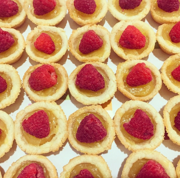 Raspberry Lemon Tartlettes