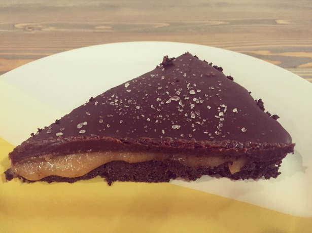 Dark Chocolate Salted Caramel Oreo Tart