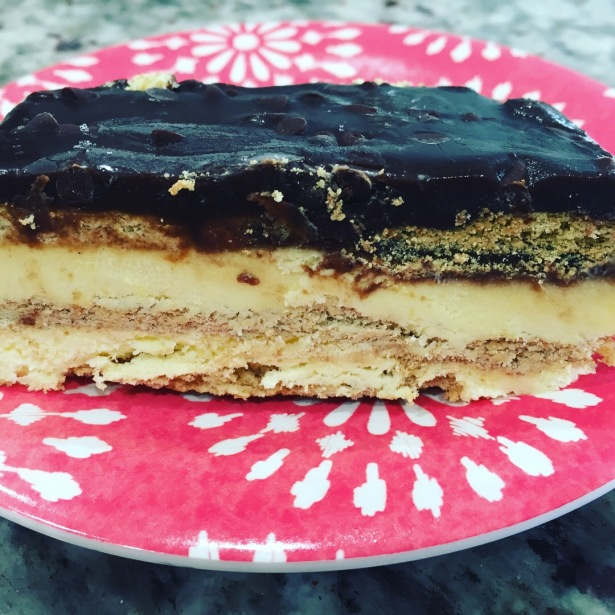 Boston Cream Icebox Cake