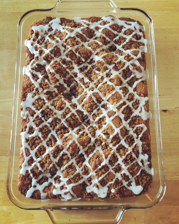 Graham Streusel Coffee Cake