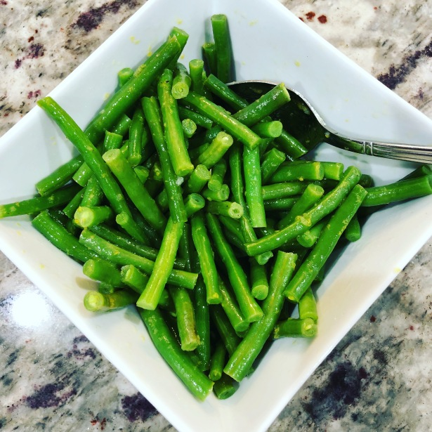 Simple Lemon Green Beans