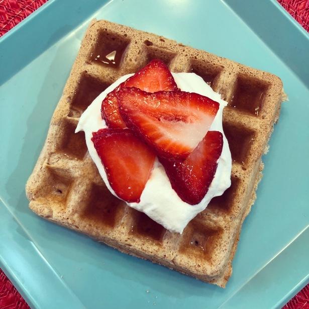 45 Calorie Fat Free Waffles