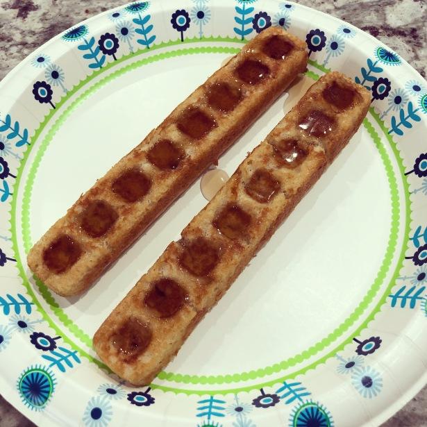 Baked Waffle Sticks