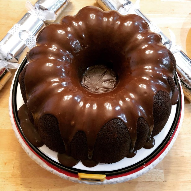 Chocolate Mocha Bundt Cake with Chocolate Mocha Glaze