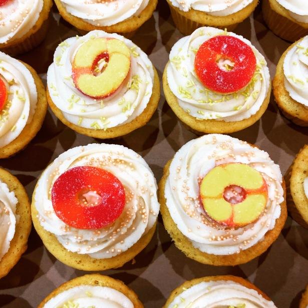 Peachie-O's Cupcakes