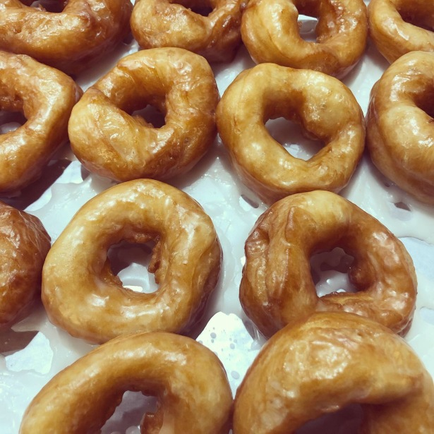 Glazed Doughnuts from Jean's Basic Bread Dough Recipe