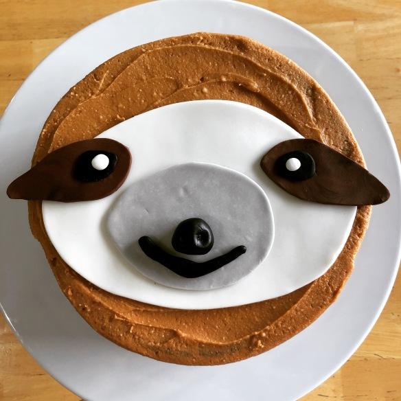 Sloth Birthday Cake | Penny's Food Blog