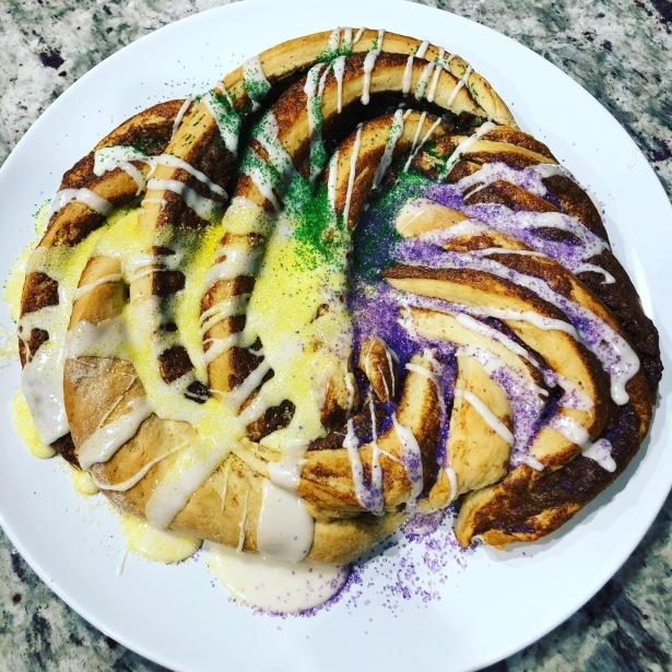 Cinnamon Twist King Cake