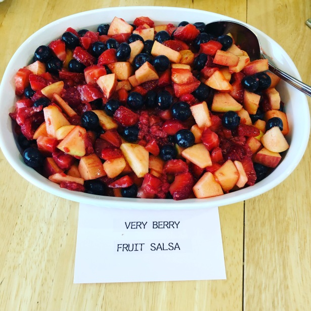 Very Berry Fruit Salsa