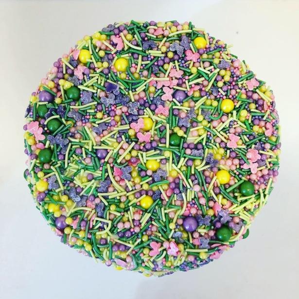 Sprinkle Groom's Cake